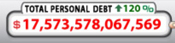 US Debt Clock 2016